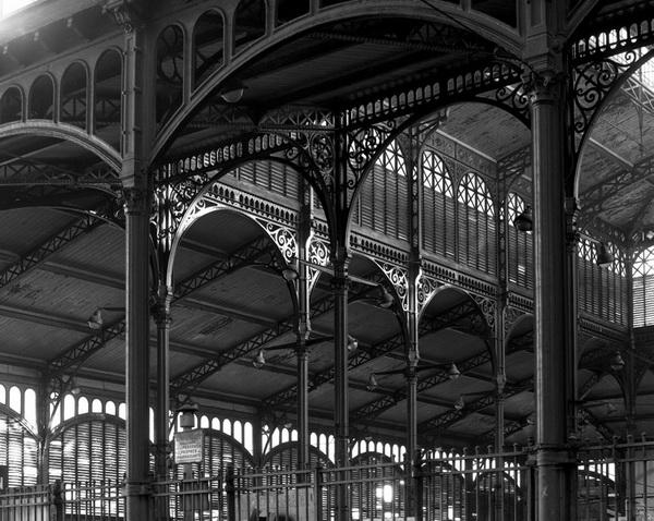 Doisneau-Paris-les Halles Baltard